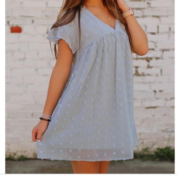 Lamely Swiss Dot dress